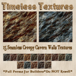 TT 15 Seamless Creepy Cavern Walls Timeless Textures